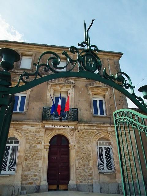 Hotel de Ville - Moussan, France