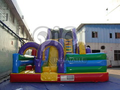 Obstacle course inflatable playground combo-05