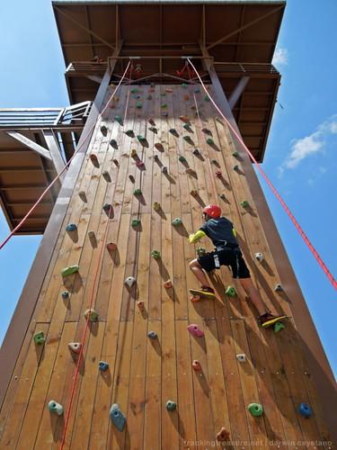Adventure Tower (Wall Climbing) at Sandbox Alviera, Porac Pampanga