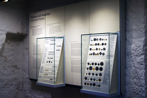 Photo 3: Display of coins of Württemberg