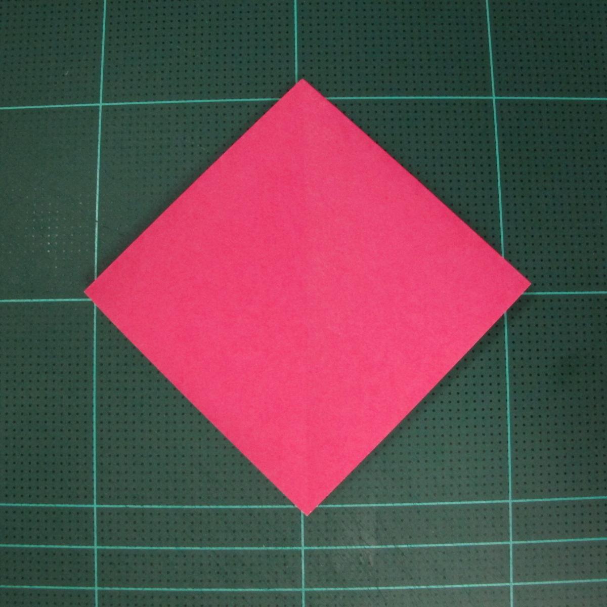 การพับฐานสี่เหลี่ยม (Origami Preliminary Base) 004