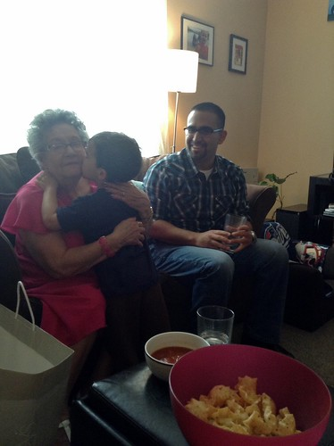 Alonso Family Visit 2014