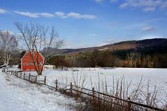 Barn in Winter - Berkshires