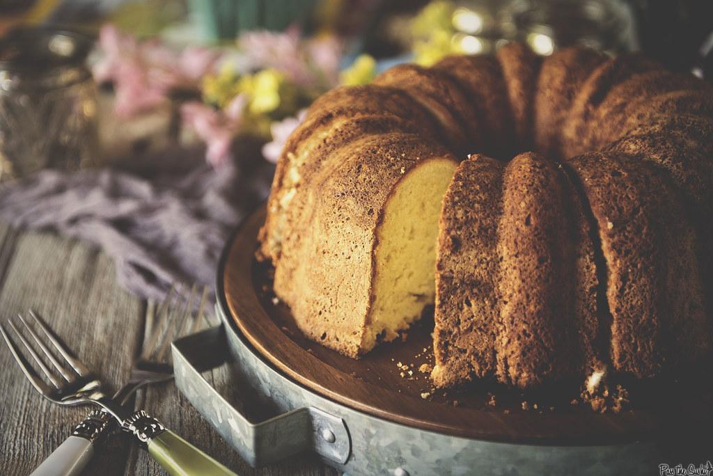 Rum Cake #FlavorStory \\ PasstheSushi.com