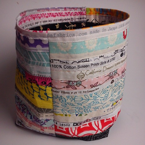 selvedge bucket