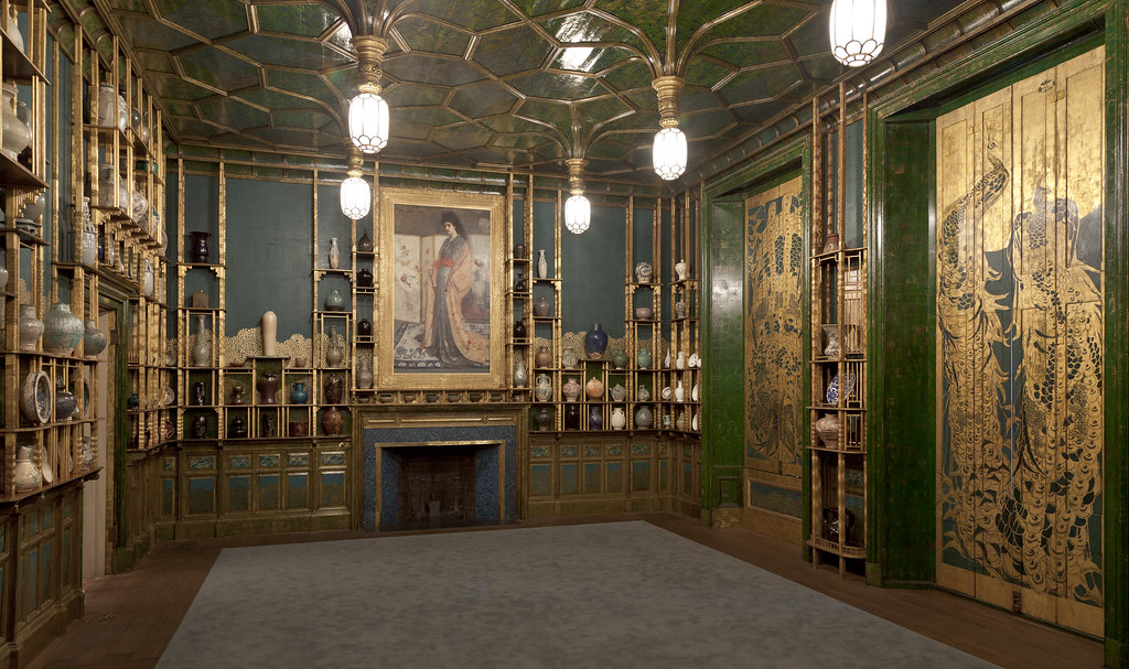 """The Peacock Room Comes to America"" exhibition"