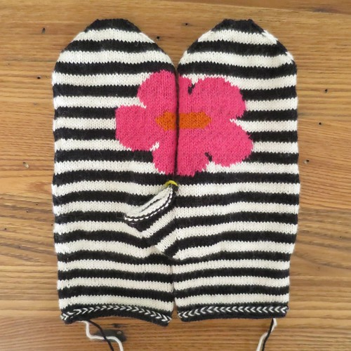 Iron Craft '14 Challenge #9 - May Flowers Mittens (almost)