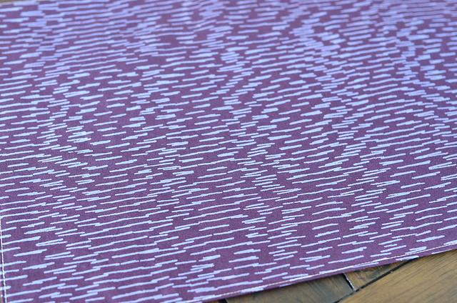 placemat back - Marimekko print