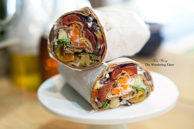 Hot Harissa Wrap
