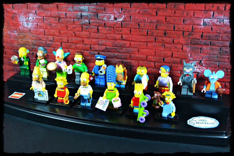 The Simpsons LEGO minifigures