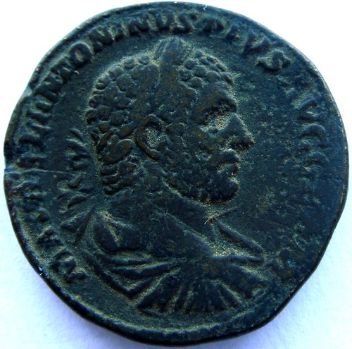 P M TR P XVIII IMP III COS IIII P P de Caracalla 16168773767_46af8ce942