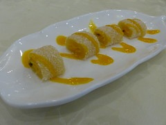 Mochi Roll with Purple Rice & Mango (鮮芒紫…