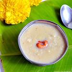 Thinai arisi payasam/Foxtail millet kheer
