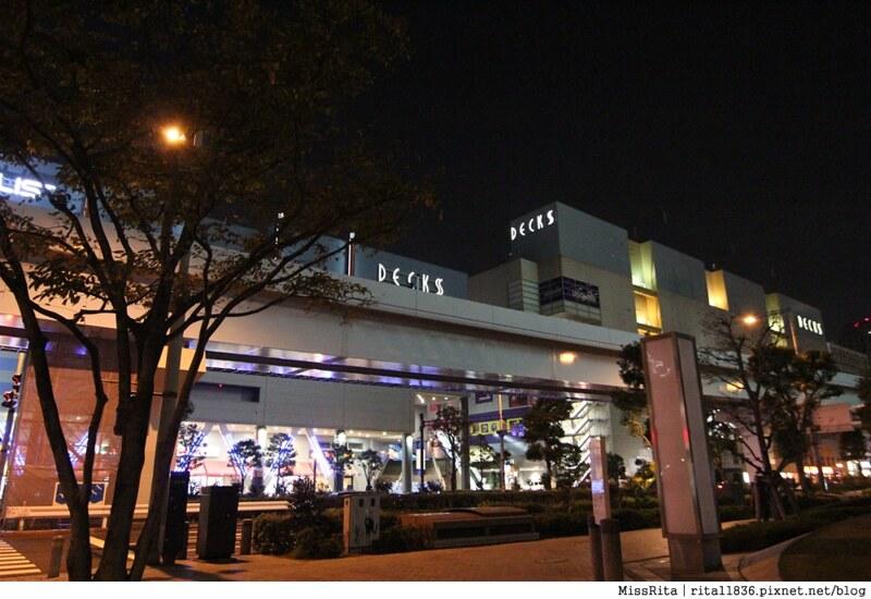 日本台場 鋼彈 彩虹大橋 自由女神 景點8