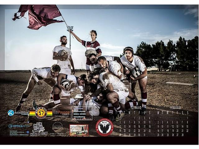 Atleti Calendario.Atleti Rugby Club Granata Realizzano Calendario 2015