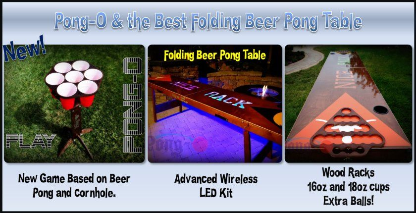 Pong-O and the best Beer Pong folding table