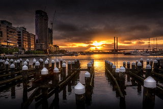Docklands Sunset