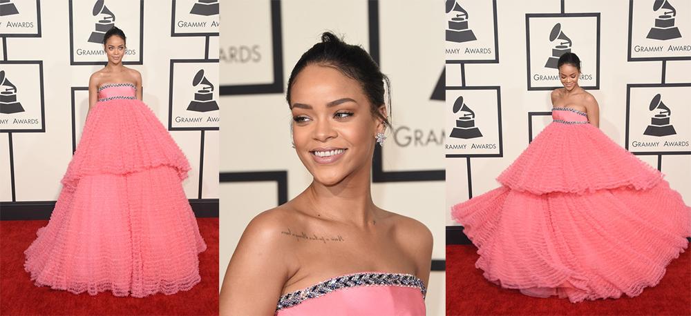 Grammys15-Rihanna