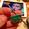 Learning to knit with the sweet, sweet sounds of George Ezra. Such a great voice!