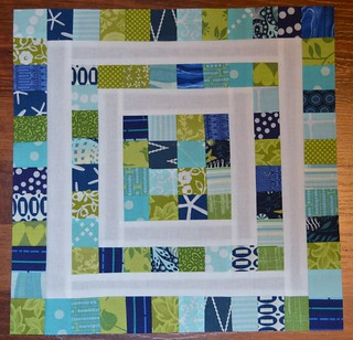 Scrapbuster block 2 for CHEER at do. Good Stitches
