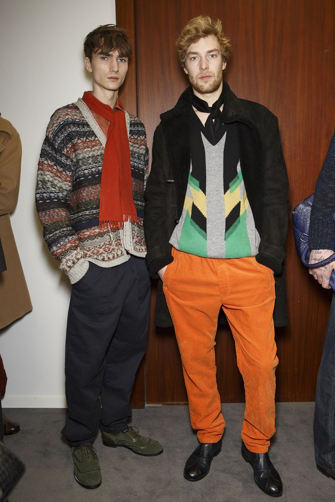 FW15 Milan Bottega Veneta225_Gryphon O'Shea, Kim Dall Armi(fashionising.com)