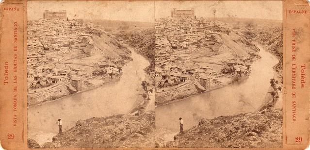 Lamy. Vista tomada desde las ermitas de Santiago