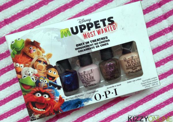 Muppets Most Wanted OPI Nail Polish Set TJ Maxx Sale