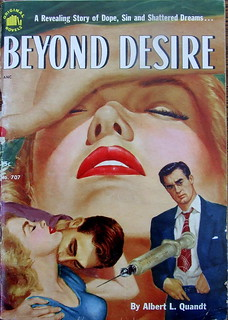 Beyond Desire - Original Novel - No 707 - Albert L. Quandt - 1952