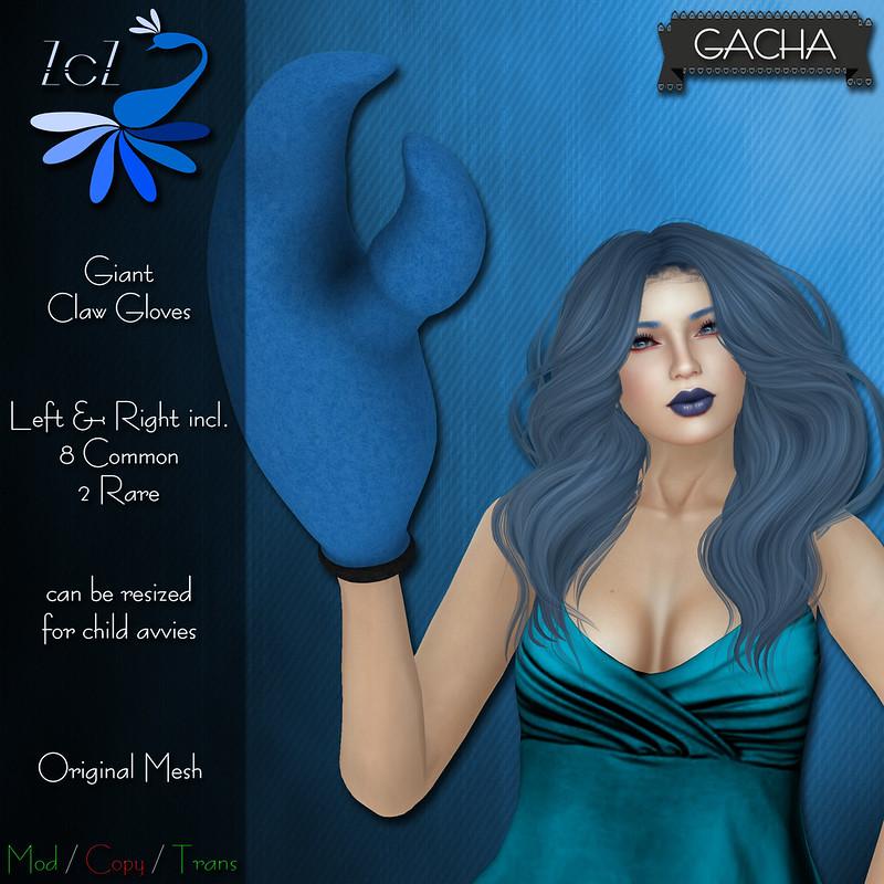 ZcZ Giant Claw Glove Gacha