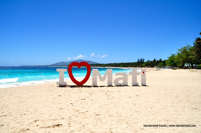 I Love Mati Dahican Beach