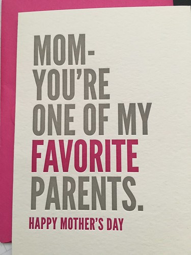 Mother's Day card from Yen