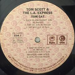 TOM SCOTT & THE L.A. SCOTT:TOM CAT(LABEL SIDE-A)
