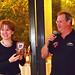 FAI Secretary General Susanne Schoedel and President of Talos Aeroclub Nikos Makrakis