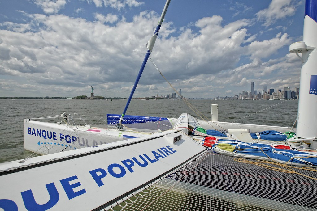 Maxi Solo Banque Populaire VII - NewYork 2014_Copyright C. Launay/BPCE