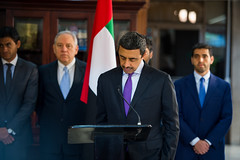 رئيس كوستاريكا يستقبل سمو الشيخ عبدالله بن زايد