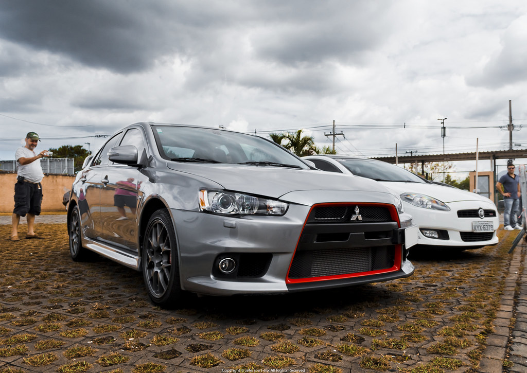 Mitsubishi Lancer Evolution X John Easton Edition