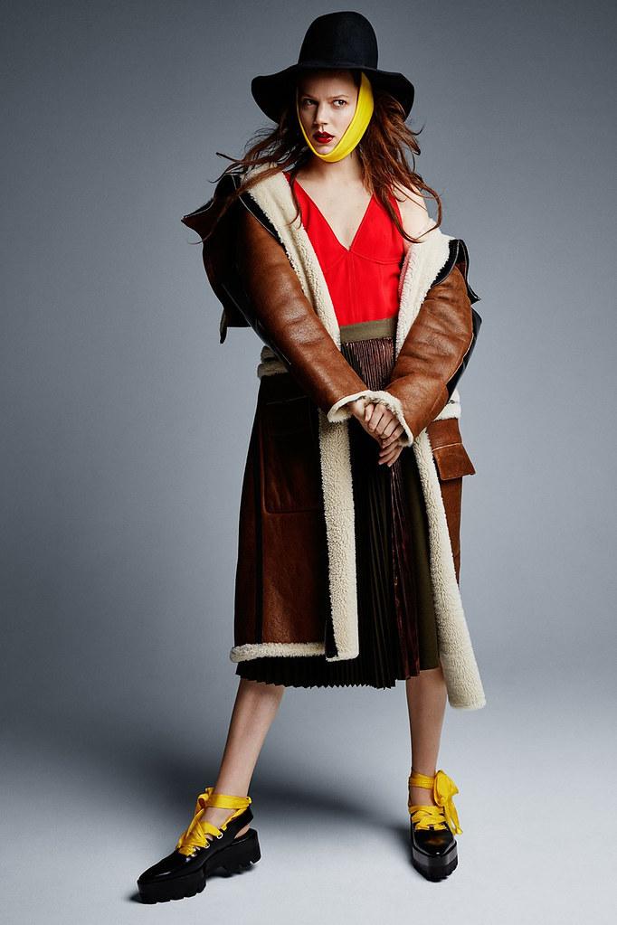 Фрея Беха Эриксен — Фотосессия для «Vogue» UK 2016 – 6