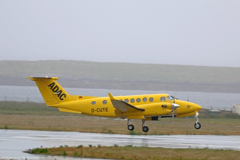 D-CUTE - B350 - Aero-Dienst