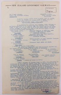 Pukerua Bay Railways Bus and Railways Truck collission - 29 June 1951