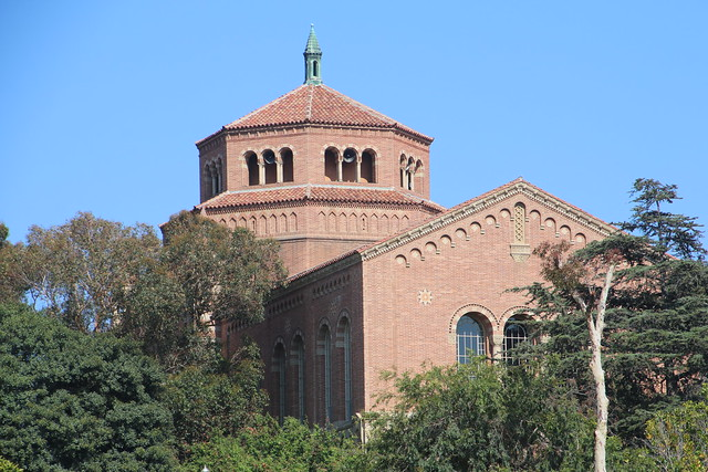 Powell Library at UCLA (Los Angeles, California) - June 2016