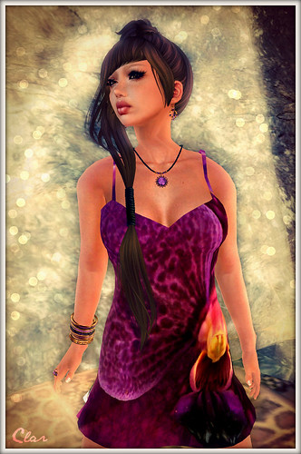 Purple Orchid Dress 2