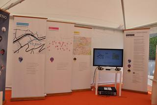 Narrare #borgosmaria - installazione interattiva