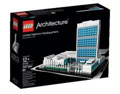 LEGO 2013 Architecture 21018 United Nations Headquarters