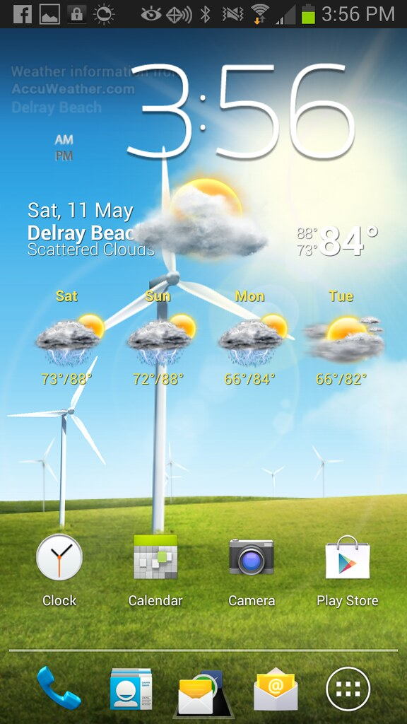 Windy Windmill Live Wallpaper Not Updating To Current
