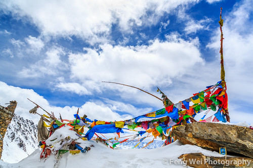 Tibetan Prayer Flags @ Balang Mountain Pass