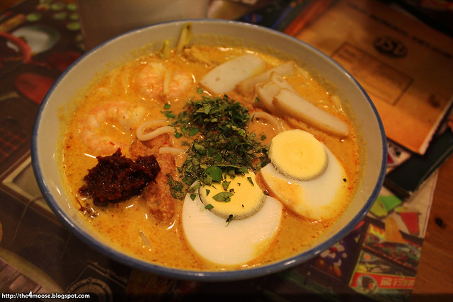 Old School Delights - Laksa D'Lite