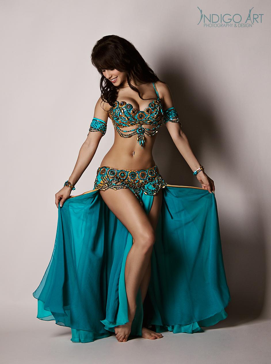 Tribal Glitter Adjustable Sequin Beaded Fringe Gypsy Pole Belly Dance Bra Top UK
