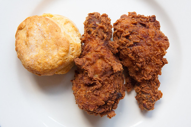 Fried chicken and biscuit, Hybird?