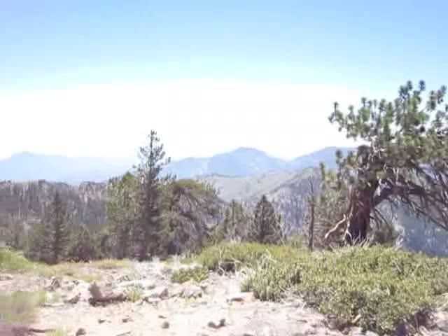 234 Throop Peak Summit panorama video