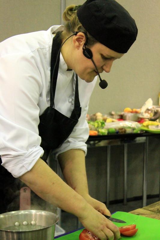 Stephanie Moon, food fair Harrogate